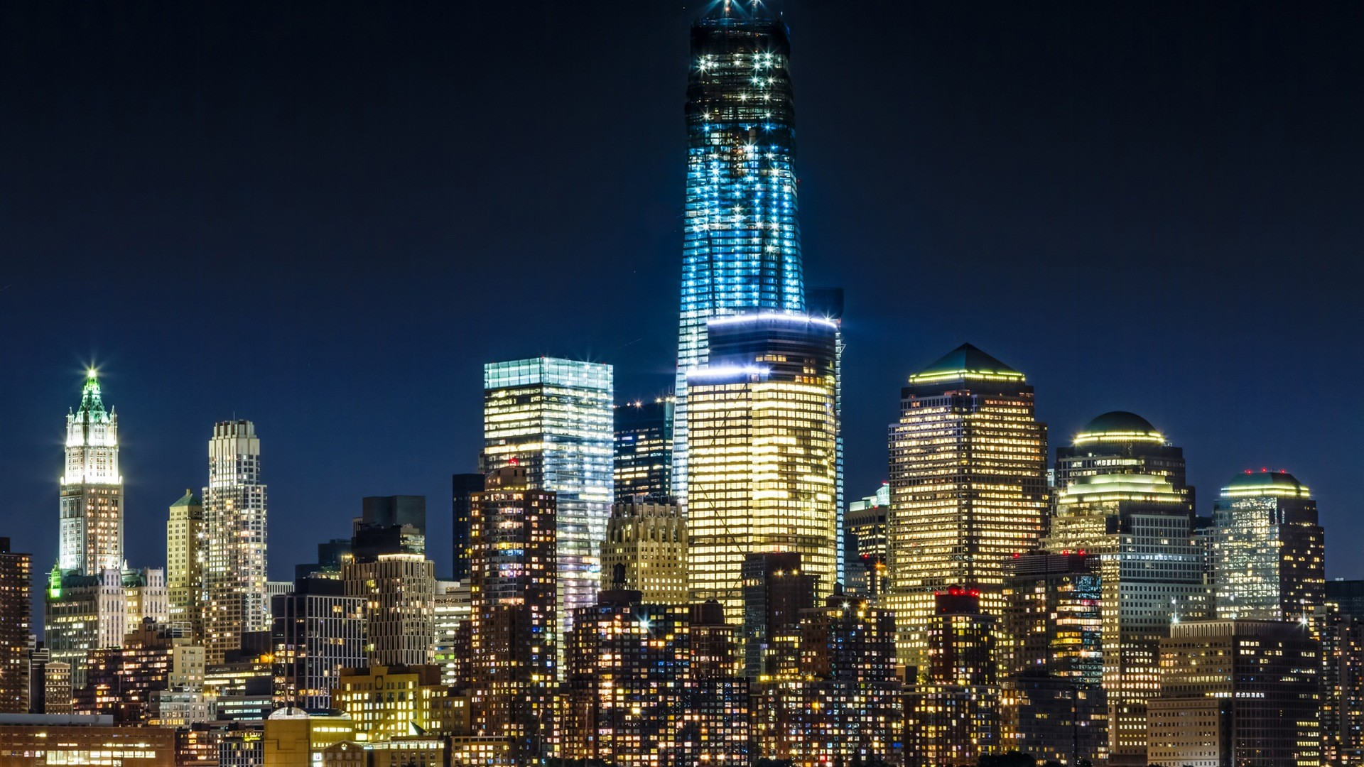 The Empire State Building Lights Tonight