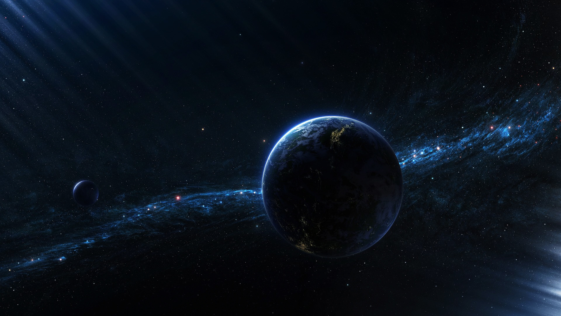 Image Result For Space Wallpaper Space Cataclysm Planet Art Explosion Asteroids