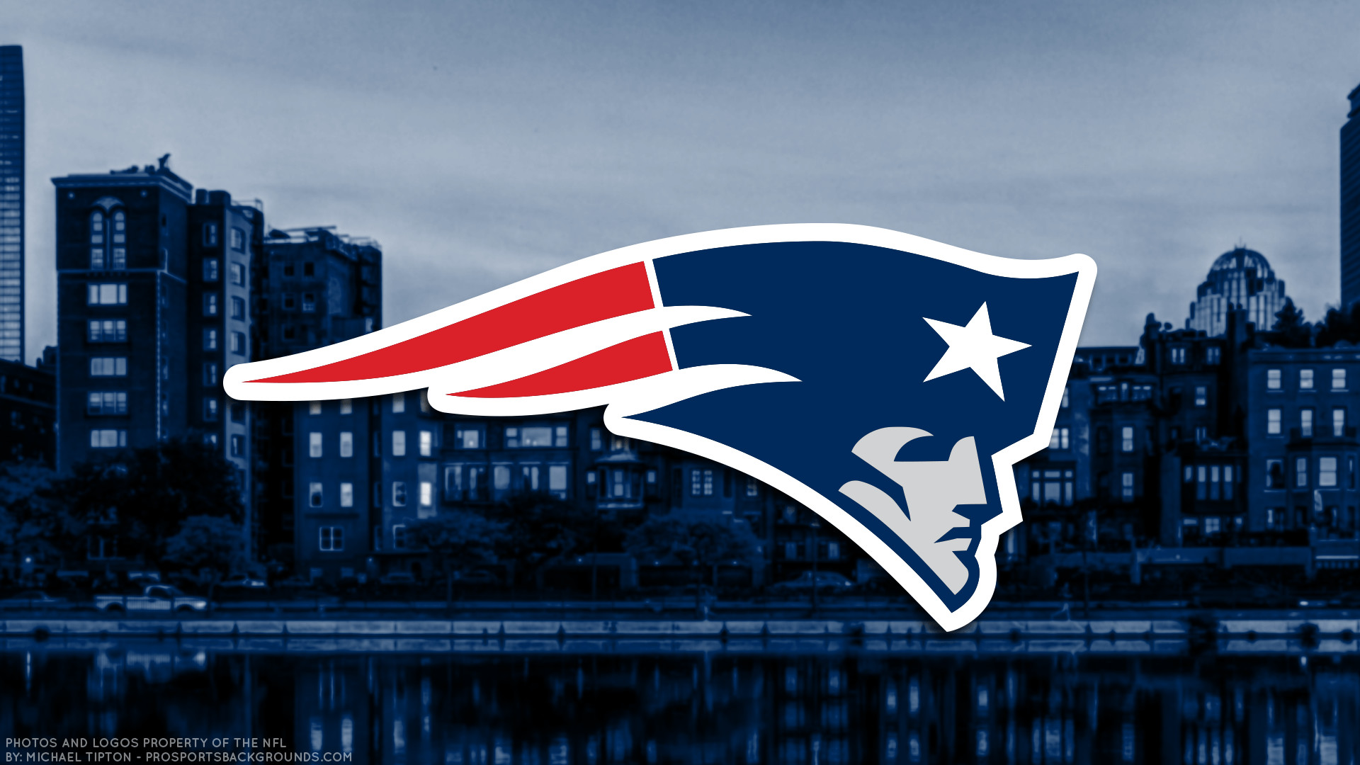 1920x1080 2017 New England Patriots Wallpapers