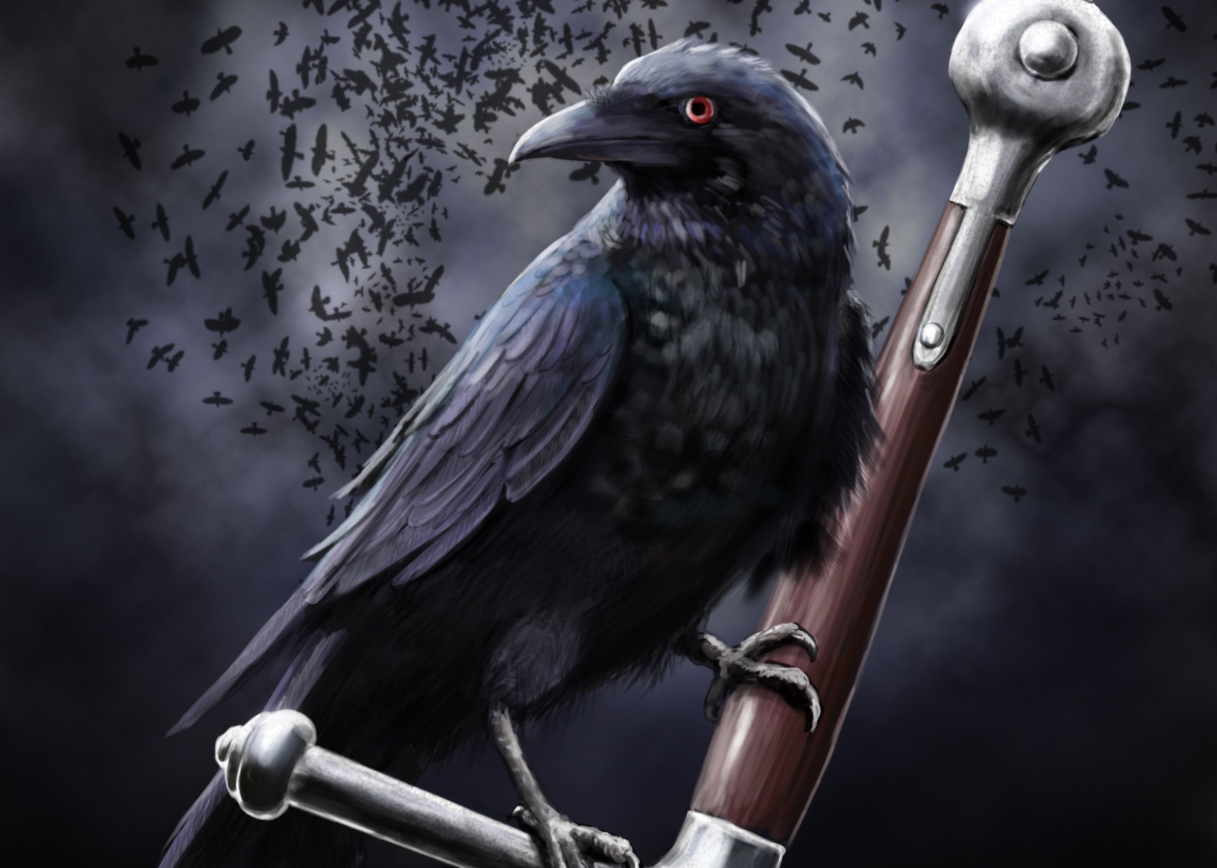 Evil crow wallpaper - photo#37