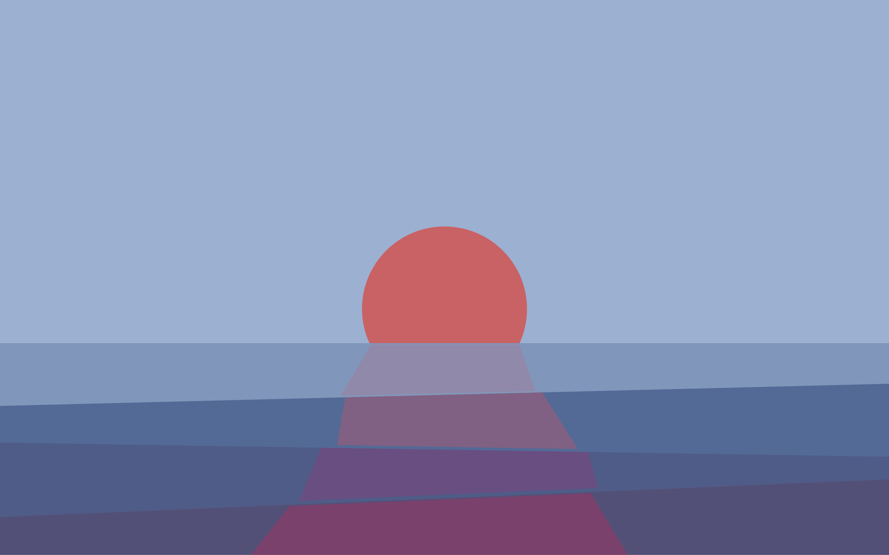 2880x1800 Tumblr Static Summer Sunset Created By Marilou Poly Lakeside Wall Whiteonblue Minimal Retro